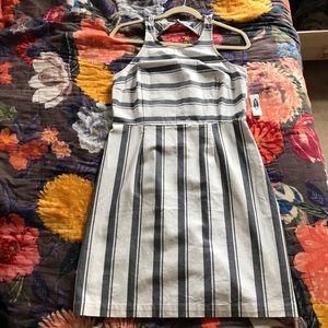 NWT striped old navy cotton sheath dress